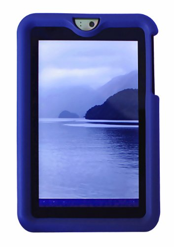 Cheap Silicone Case for Toshiba Thrive 10in Android Tablet - Bobj protective cover - Batfish Blue