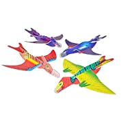 Rhode Island Novelty Dinosaur Gliders Set (48 Pack) 7 1/2