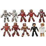 Marvel Minimates Iron Man 3 Hall of Armor Figure, 10-Pack おもちゃ [並行輸入品]