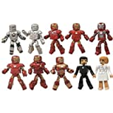 Marvel Minimates Iron Man 3 Hall of Armor Figure, 10-Pack おもちゃ [並行輸入品]