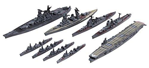 Fujimi 1/3000 new gather naval port series No.1 Yokosuka