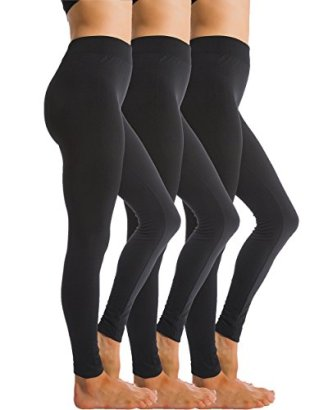 3-Pack-Fleece-Lined-Thick-Brushed-Leggings-Thights-by-Homma