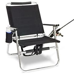 Fishing Chair Umbrella Holder Dining Seat Replacement Fishmaster Ultra Light All Aluminum And Rod With Spf 50 Clamp On 41