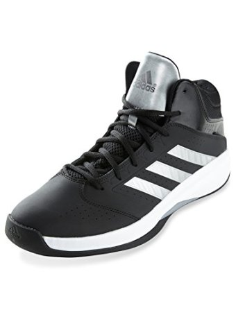 adidas Performance Men's Isolation 2 Wide Basketball Shoe,Black/Silver/White,12 W US