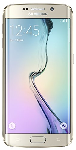 Samsung Galaxy S6 Edge G925F Unlocked Cellphone, 32GB, Gold Platinum