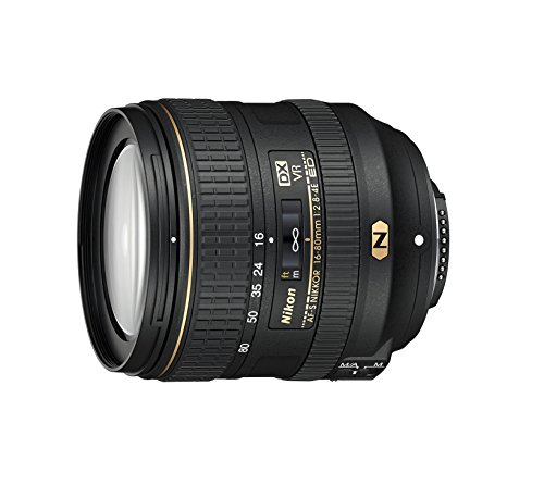 Nikon AF-S DX NIKKOR 16-80mm f/2.8-4E ED Vibration Reduction Zoom Lens with Auto Focus for Nikon DSLR Cameras