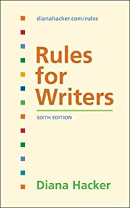 """Cover of """"Rules for Writers"""""""