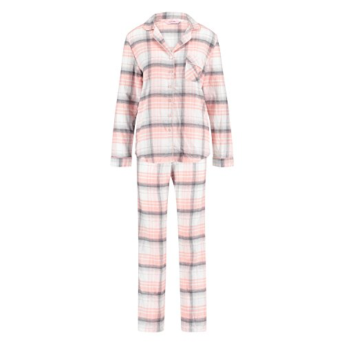 Hunkemöller Damen Pyjamaset Twill 114214