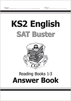 KS2 English SAT Buster Reading Answers (for Books 1-3