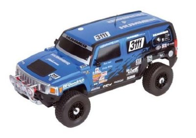 Licensed-Carrera-H3-SUV-Electric-RC-Truck-24GHz-112-Off-Road-RTR-Blue-by-Velocity-Toys