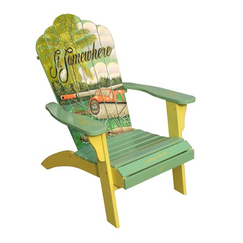 Margaritaville Model SA623141 Classic Adirondack Chair