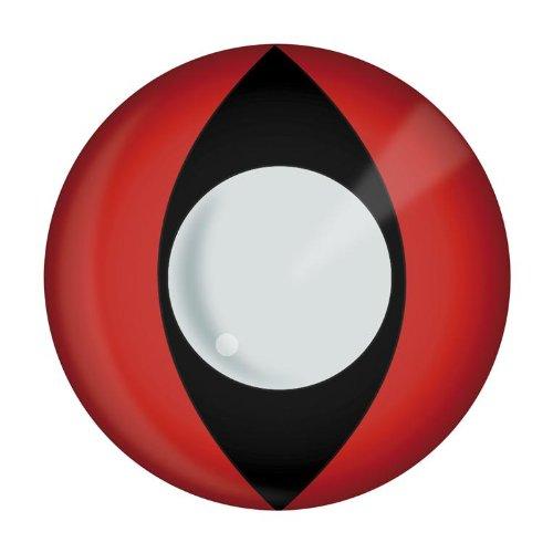 Kontaktlinsen rote Katzenaugen Katzenauge rot red