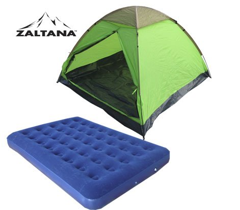 3 PERSON TENT WITH AIR MATTRESS (DOUBLE)