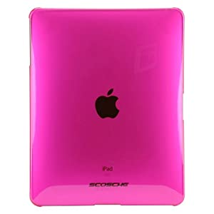 Scosche snapSHIELD P1 Low Profile Polycarbonate Case for iPad (Rocker Pink)