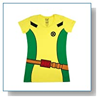 Marvel X-Men Rogue Costume Girls T-Shirt Size : Medium