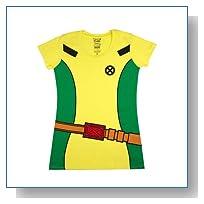 Marvel X-Men Rogue Costume Girls T-Shirt Size : Medium