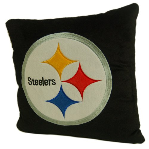 Pittsburgh Steelers 16Inch Polyester Felt Plush Pillow