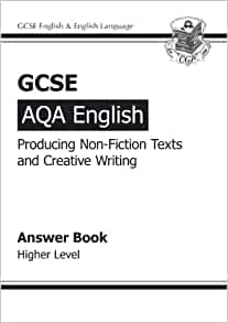 GCSE AQA Producing Non-Fiction Texts and Creative Writing