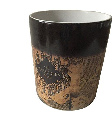 Harry Potter inspired Marauders map morphing mug color changing 11 oz ceramic mug