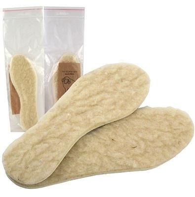 Lammfell Einlegesohlen / Einlagen für Schuhe 1 Paar Gr. 43/44