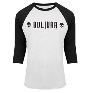 The-Strain-Bolivar-Raglan-T-shirt-White-XL