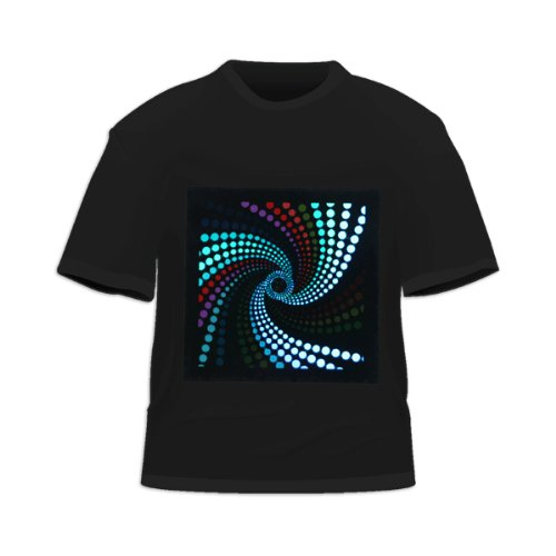 Equalizer Sound Activated LED T-Shirt