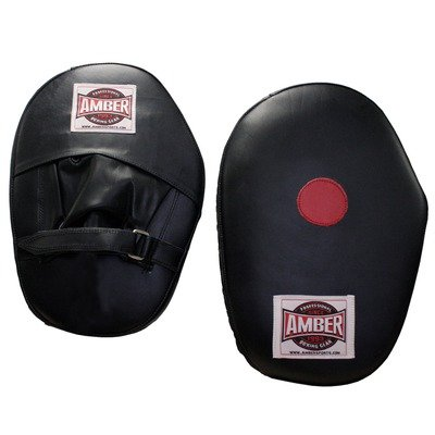 Amber Sporting Goods Focus Mitts (Black, X-large)