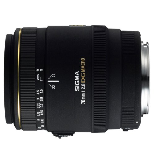 Sigma 70mm F/2.8 EX DG Macro Lens for Canon Digital SLR Cameras