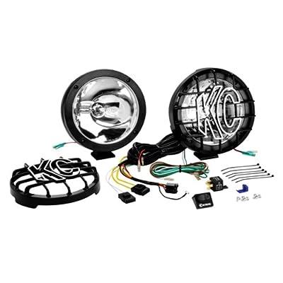 :&KC HiLiTES 850 Pro-Sport 8' Black Polymax 35w Internal