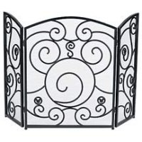 Disney Wrought-Iron Mickey Mouse Fireplace Screen ...