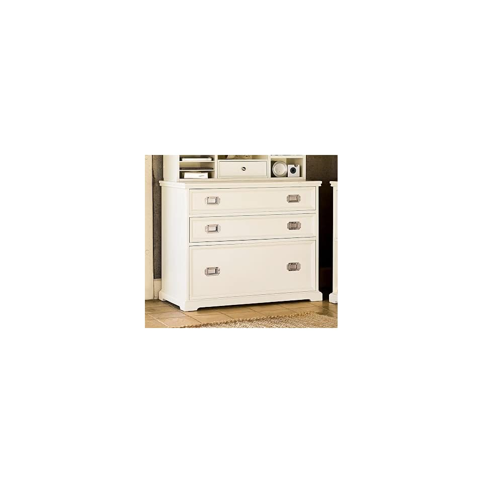 Pottery Barn Porter Lateral File Cabinet with Drawers on
