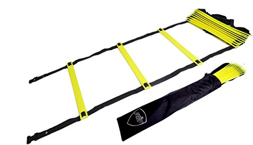Pepup Super Flat 12 Rungs Adjustable Speed Agility Ladder