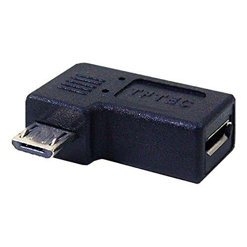 変換名人 スマートフォン 変換アダプタ 水平90度 LEFTward USBMC-LLF