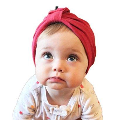 SunwardTM-Newborn-Cute-Soft-Baby-Girl-Hospital-Bohemia-Hat-Red