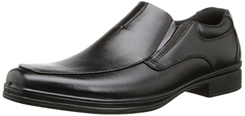 Soft Stags Men's Reason Slip-On Loafer, Black, 11 W US