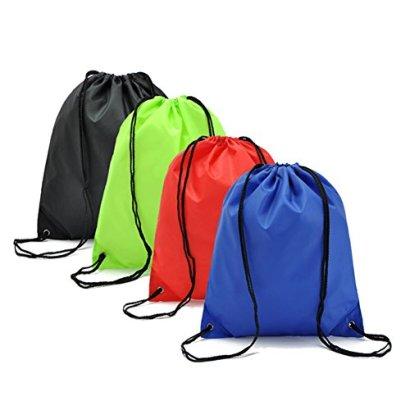 BINGONE-Drawstring-Bag-Nylon-Folding-Backpack-Home-Travel-Sport-Storage-4-Different-Colors