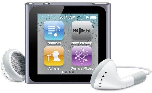 Apple iPod nano 16GB グラファイト MC694J/A 【最新モデル】