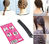 51%2B9ws%2BdmAL. SL160  - BEST BUY #1 Fashion French Hair Braiding Tool Roller With Magic hair Twist Styling Bun Maker