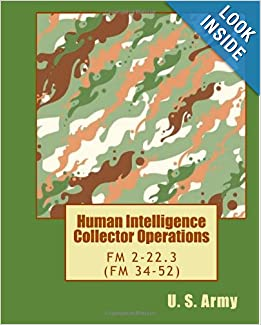 Human Intelligence Collector Operations FM 2223 FM 34