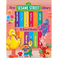 First Sesame Street Library 12 Volume Boxed Set