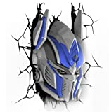 Transformers 3D Wall Art Nightlight Optimus Prime バッテリー常夜灯トランスフォーマー3Dオプティマスプライム [並行輸入品]
