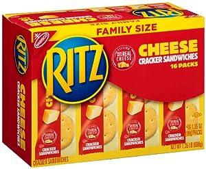 Amazoncom Nabisco Ritz Cracker Sandwiches with Cheese