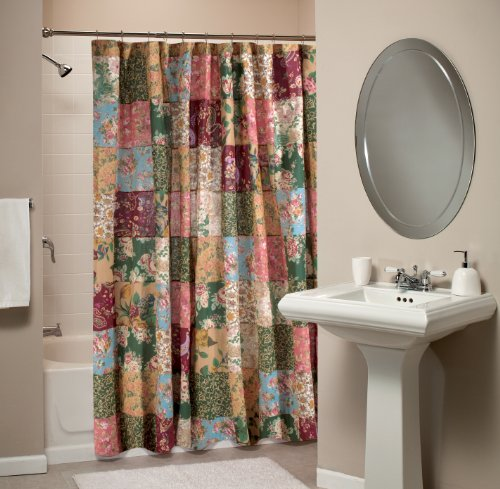 Greenland Home Antique Chic Patchwork Shower Curtain New  eBay