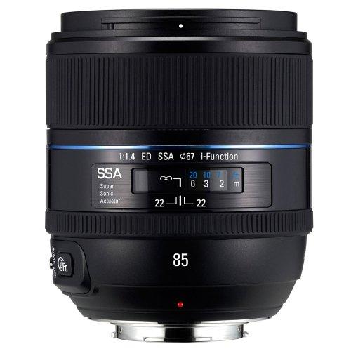 Samsung NX 85mm f/1.4 Camera Fixed Lens
