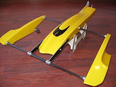 28-inch-Poseidon-Kit-FibreGlass-Outrigger-Hydroplane-Hydro-Rigger-Rc-Boat