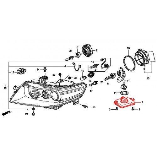 OEM HID Xenon Ballast Controller Unit For Acura TL S TSX