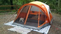 Amazon.com : Coleman 4-Person Evanston Tent with Screened ...