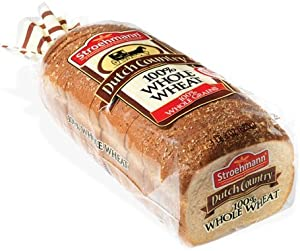 Stroehmann Dutch Country 100 Whole Wheat Bread Pack of 3