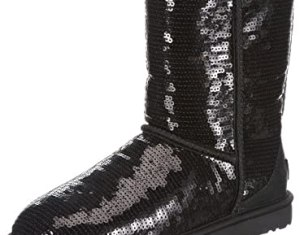 Ugg Women S Classic Short Sparkles Boot Amazon