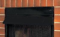 Comfort Flame GA6050 Fireplace Hood, Black | Lowes Top ...